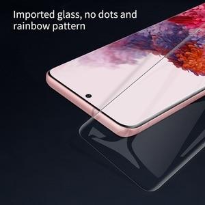 Image 3 - NILLKIN 3D DS MAX واقي شاشة لهاتف Samsung Galaxy S20 ، زجاج مقوى 9H ، آمن