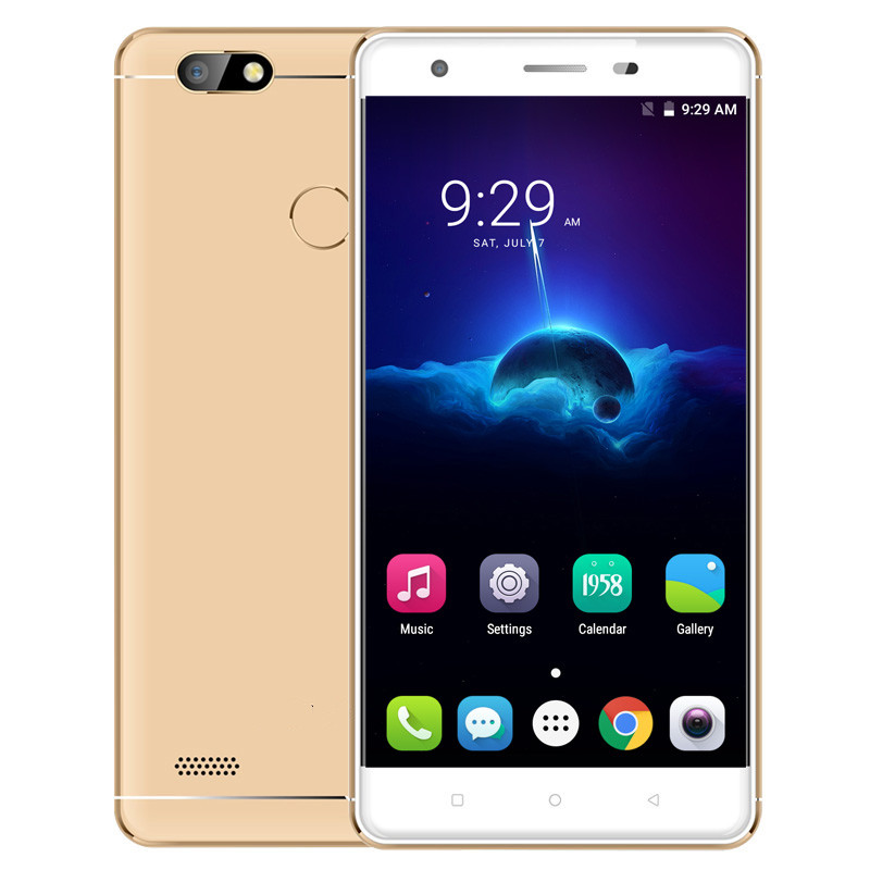 Hot sales 5 inch S07 3G/4G Smartphone Android 6.0 MTK6737 2G+16G Touching Screen Dual SIM Bluetooth WIFI Micro USB 2 Cameras 1