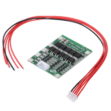 New Arrival 1pc 4S 30A 12V BMS PCB Protection Board 18650 Battery BMS Packs With Balance For LiFePo4 LiFe