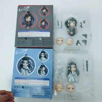 10cm Nendoroid 1109 & 1068 Anime Großmeister von Dämonische Anbau Lan Wangji & Wei Wuxian Action Figur Modell Spielzeug puppe Für Geschenk