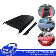 Спортивный капот совок воздушный поток впускного вентиляционного отверстия крышка подходит для Ford Mustang 2005