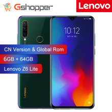 Global Rom Lenovo Z6 Lite 6GB 64GB OTA Snapdragon 710 Octa Core mobile Phone 16MP Triple Cams Full Screen 4050mAh Smartphone(China)