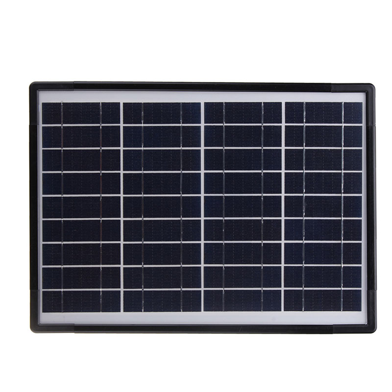 Reusable Solar Generator with 4 LED Bulbs Used as Power System Home and Outdoor Camping 4