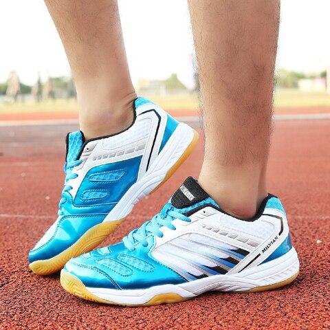 Tênis de Marca Tênis de Treinamento Profissionais Sapatos Badminton Homens Mulheres Leve Anti-slippery Esporte Tênis Indoor 2020