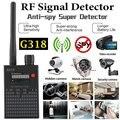 G318 анти-шпионский усилитель сигнала детектор радиочастот шпион Ошибка GPS трекер поисковый Tracer Finder 2G 3g 4G Детектор
