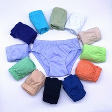 Underwear Shorts Boys Panties Kids Briefs 1-10-Years Cotton Children Solid 12pcs/Lot