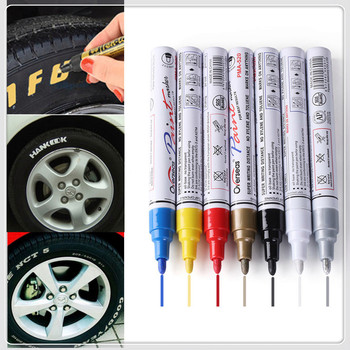 Car Waterproof Pen Tyre Tires Tread Paint Markers Marker for Toyota V Hilux Land Cruiser Avanza Carina Celica Corona image