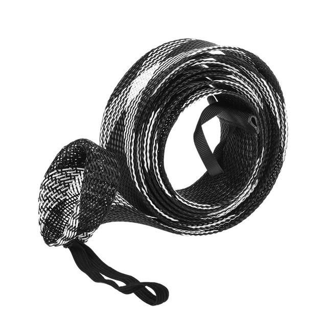 Mesh Wrap Casting Fishing Rod Sleeve Cover Pole Glover Tip Protector Bag #EB