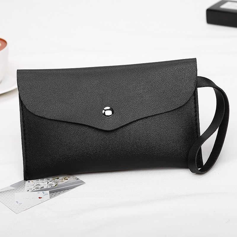 Attra-Yo новая женская сумка-клатч удобный pu нулевой кошелек простая маленькая квадратная сумка модная сумка для девочек одноцветные Дневные ключи
