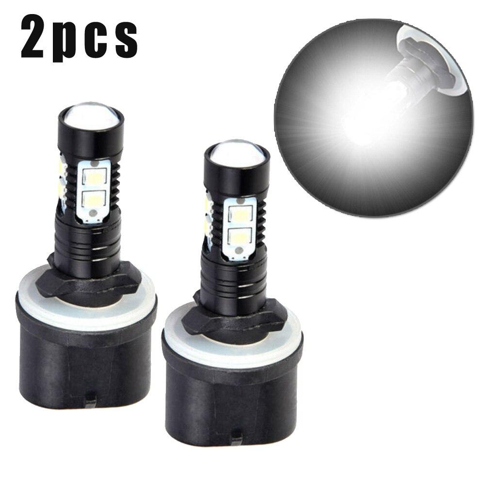 2PCS White//Purple pink LED Light 880//881 899 COB Bulb Dual Color Kit Fog Light