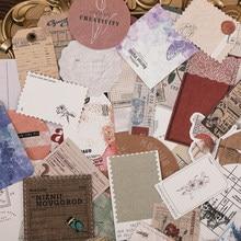 30 unidades/pacote de papel kraft branco material colagem cartão adesivo pacote diy diário decoração adesivo álbum de fotos scrapbook
