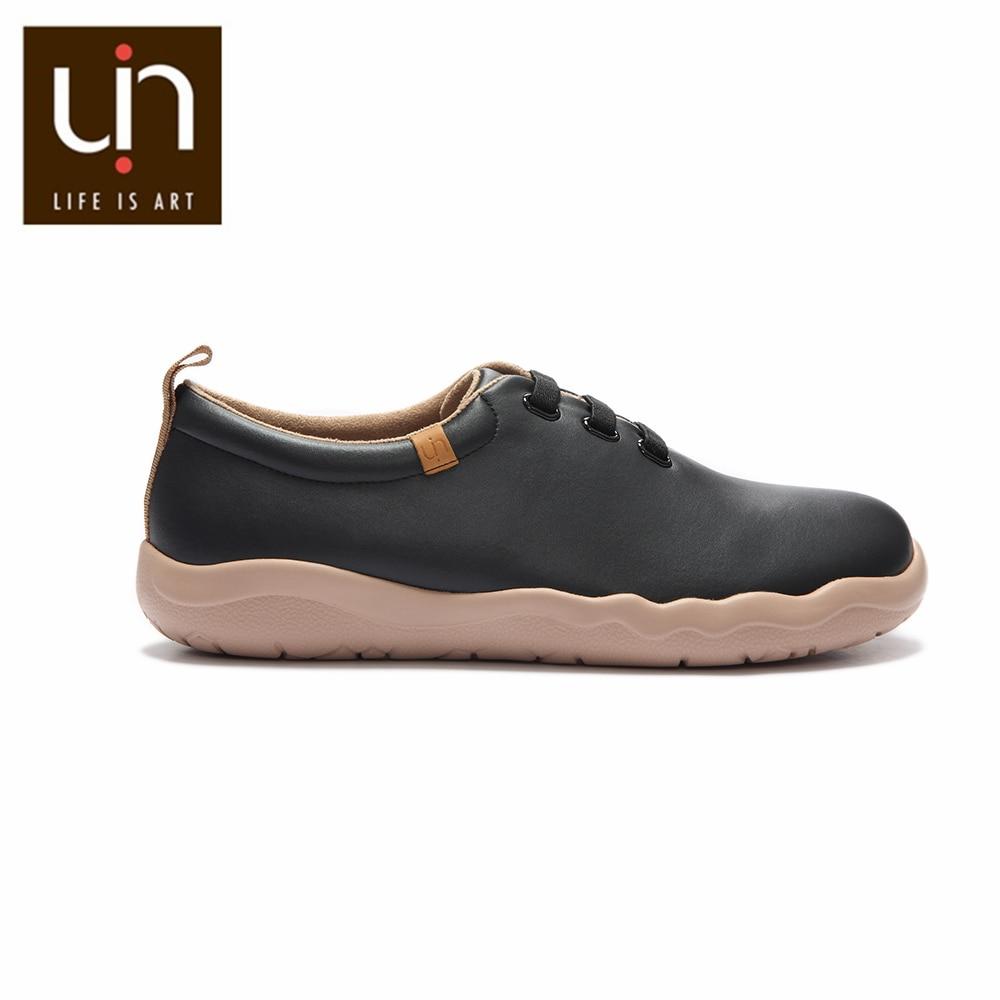 UIN Zapatos de Cuero Casual Pie Zapatos de Vestir Hombre Casuales Zapatillas para Hombre