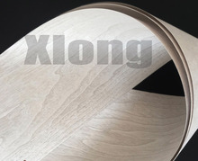 2Pieces/Lot   L:2.5meters Width:15cm Dyed Light Grey Walnut Wood Veneer