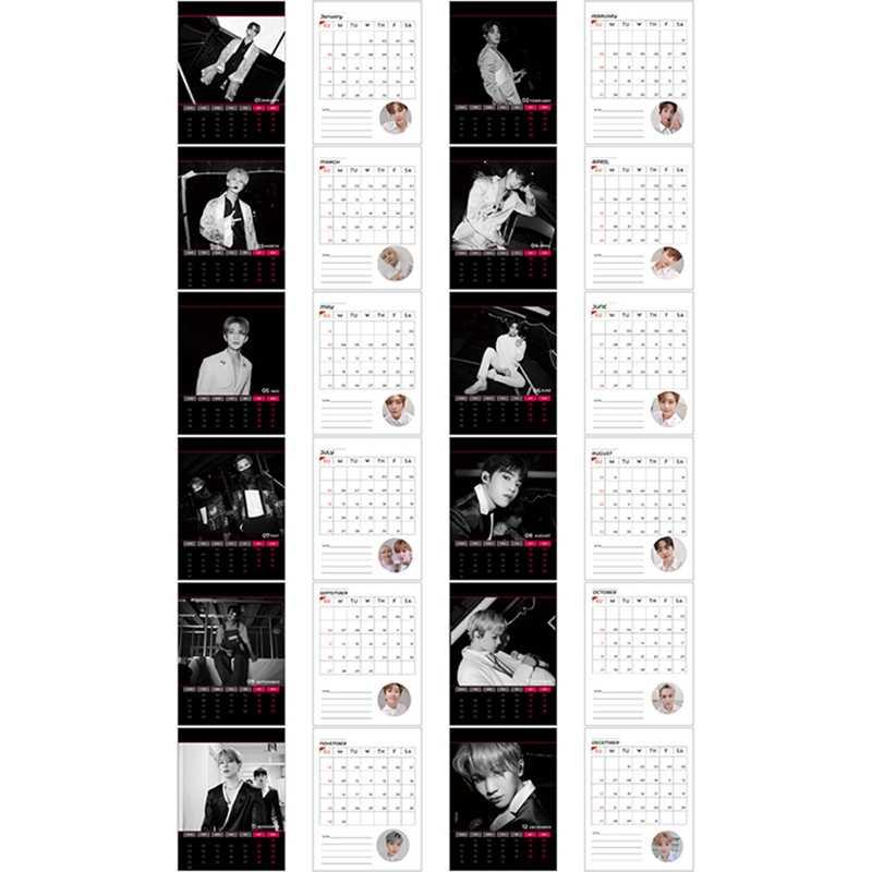 Новый модный Настольный календарь Kpop Seventeen 2020 THE8 DINO, ежедневный планировщик стола, хороший подарок для друзей