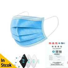 Anti Pollution Mask PM2.5 Disposable Protective Virus Face medical surgical Mask 3 Layer 50 Pcs Proof Flu Dental Mouth Masks