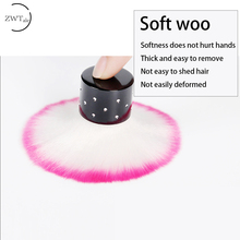 ZWTale 1pcs Soft Nail Cleaning Brush Art Manicure Tools Dust Cleaner For Acrylic & UV Gel