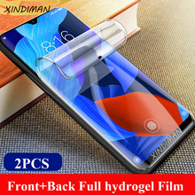 XINDIMAN 25D Full hydrogel film for hauwei Nova5 nova5i Front+Back soft screen protector huawei nova5ipro nova5pro Film