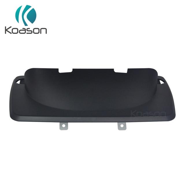 Siyah plastik çerçeve taban standı paneli BMW 1 serisi E81 E82 E87 E88 Android GPS navigasyon ve araba ekran monitör