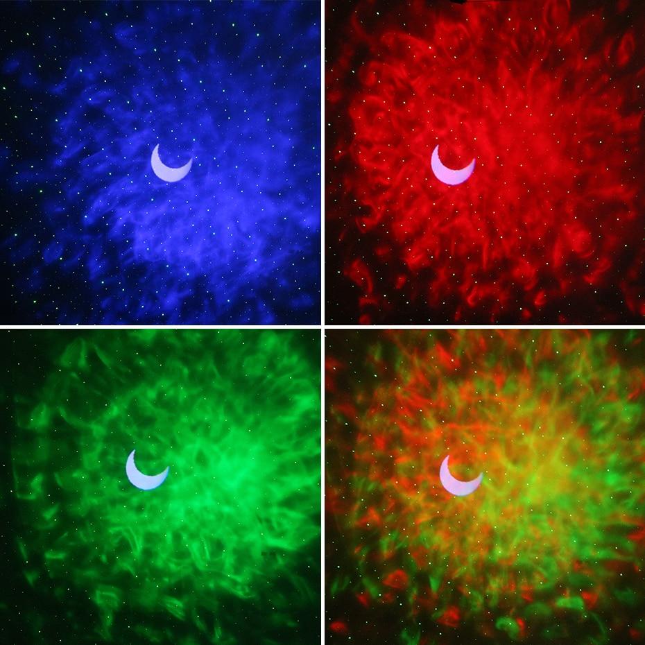 estrela noite luz laser onda oceano férias