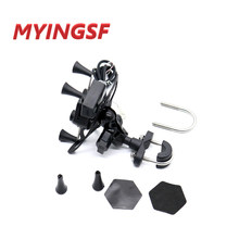 For KAWASAKI ZX-10R ZX-6R ZX6R Versys650 Versys1000 Versys 650 1000 Motorcycle GPS Navigation Frame Mobile Phone Mount Bracket