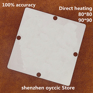 Image 2 - Direct heating  80*80  90*90   ODNX02 A2   ODNX02  A2  0.35MM  BGA  Stencil Template