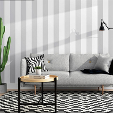 Nordic style ins modern minimalist gray black and white vertical stripes wallpaper living room bedroom clothing store wallpaper modern dark gray vertical stripes wallpaper black and white stripes nonwoven wallpaper wallpapers for living room wallpaper roll