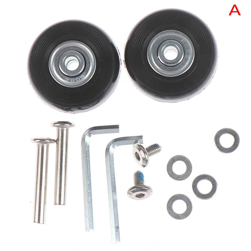 Replacement wheels for suitcase and luggage