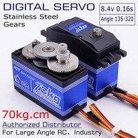 SPT70HV 70kg Metall Getriebe Winkel 180/270/320 hohe geschwindigkeit große drehmoment digital servo für roboter arm 1:5 rc auto/2060mg/savox 0236/1373