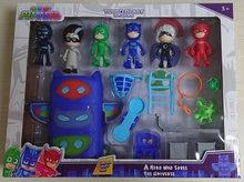 Masques Pj en PVC pour enfants, personnages de dessin animé, Catboy owlgirls, Gekko Juguete, cadeaux