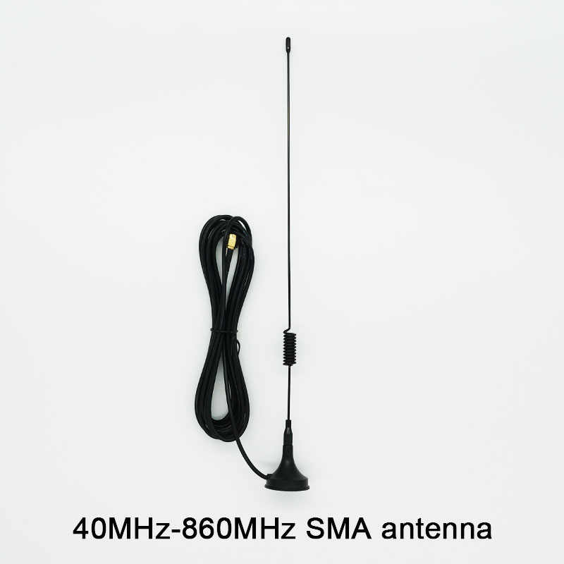 40MHz-860MHz SMA هوائي ل هاكر