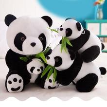 1PC 9-30cm Lovely Cute Super Stuffed Animal Soft Panda Plush Toy Birthday Christmas baby Gifts Present Stuffed Toys For Kids недорого