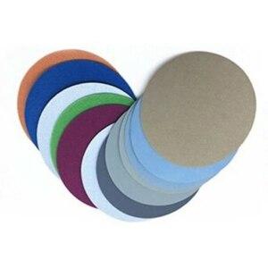 25pcs/Set 4 Inch 100mm Disc Sanding Papers 1000 2000 3000 4000 5000 Grit Durable