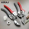 AIRAJ 7/8 дюймов  новые ножницы для обрезки бонсай  садовые ножницы из нержавеющей стали  ножницы для обрезки 30 мм  толстые ветки и трубы из ПВХ