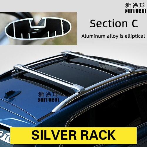 Streetwize aluminio Baca barras cruzadas Rieles Para Ssangyong Rexton Sport 2018 />