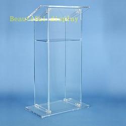 Darmowa wysyłka akrylowa ambona kościelna/innowacyjna mównica/nietłukące podium na platformę kościelną w Meble kinowe od Meble na