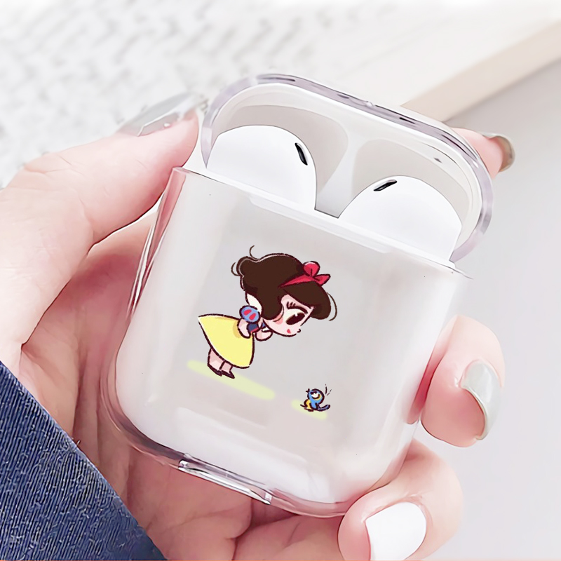 Cute Mini Princesses Mermaid Belle Snowwhite Soft TPU Earphone Case for  Airpods 1 2 Wireless Bluetooth Earphone Cover Coque - buy at the price of  $1.94 in aliexpress.com   imall.com