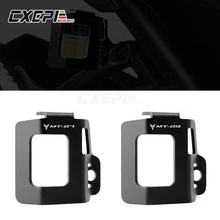 LOGO MT07 MT09 Motorcycle Rear Fluid Reservoir Guard Cover Protector for For Yamaha MT07 MT 07 MT 07 MT09 MT 09 2015 2019 2020
