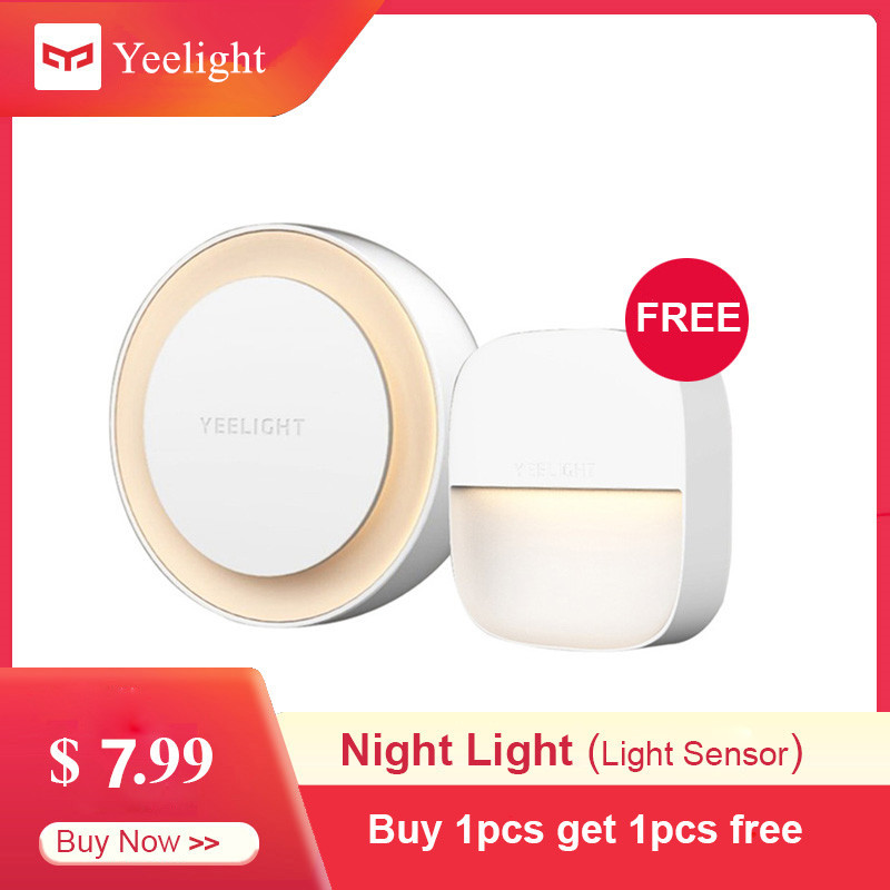 Xiaomi Mijia YEELIGHT Smart Night Light Intelligent Recognition Energy Saving Lighting Low Power Consumption Light Sensor
