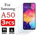 3 шт. a50 Защитное стекло для Samsung galaxy a 50 закаленное стекло 50a защита экрана samsun galaxi samsunga50 бронированный flim hd