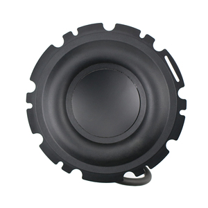 Image 3 - Haut parleur GHXAMP 4.5 pouces basse Subwoofer haut parleur mi basse grand caoutchouc Composite aluminium bassin 4OHM 90dB 50W pour Peerless