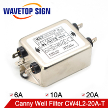 CANNY WELL EMI  power filter Single-phase double-section enhanced CW4L2-10A / 20-T 6A 10A 20A