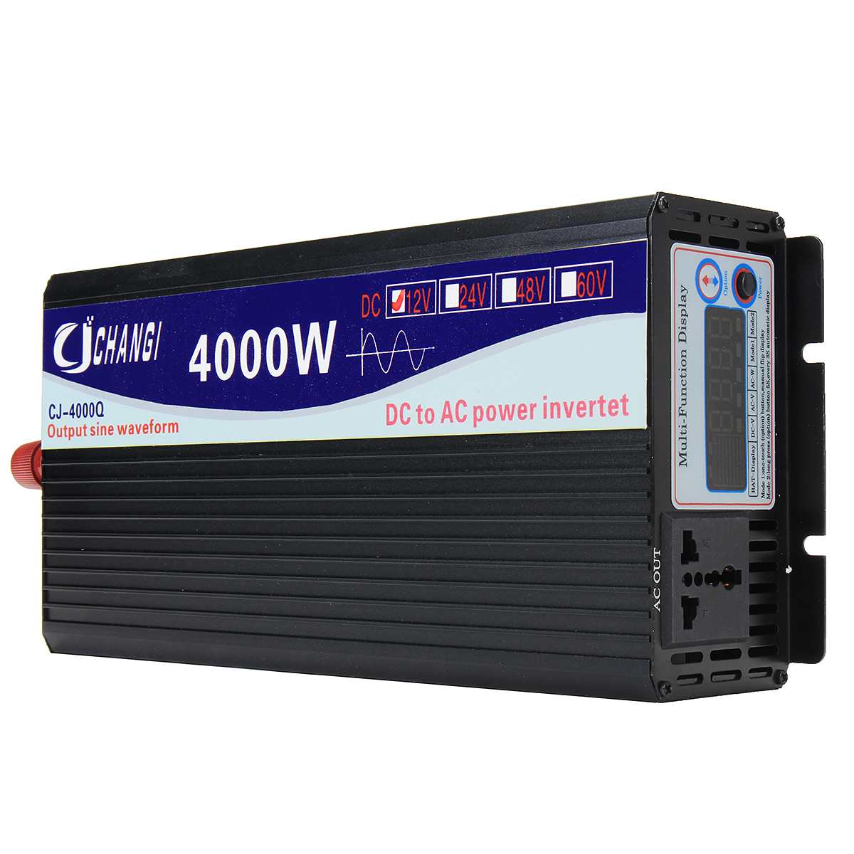 Spannung transformator <font><b>Inverter</b></font> <font><b>12V</b></font> <font><b>220V</b></font> 3000 W/4000 W/5000 W/6000 W Intelligente Reinen sinus Solar Power <font><b>Inverter</b></font> 12 V/24 V Zu <font><b>220V</b></font> image