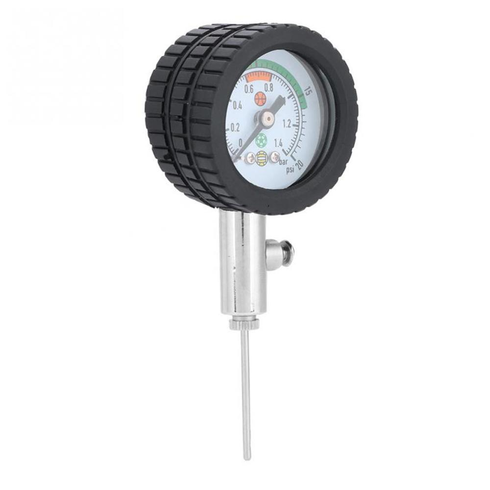 Soccer Ball Pressure Gauge Air Watch Football Volleyball Basketball Stainless Steel Barometers Dropshipping
