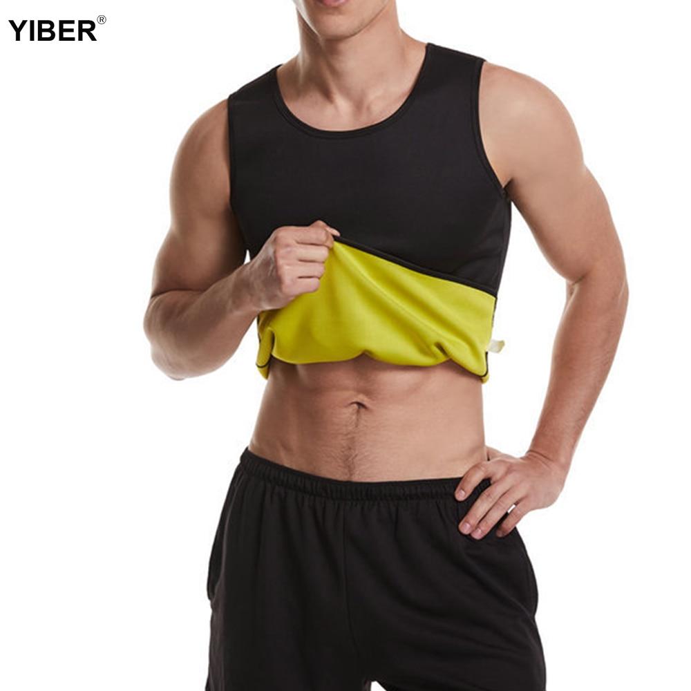 Waist Trainer Vest Slimming Belt Belly Men weight loss Vest Body Shaper Neoprene Fat Burning Waist Shaperwear Sweat Corset