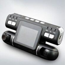 цена на UNCOM DVR Dash Cam dual lens 360 degree car driving recorder HD car night vision mini wide angle front and rear monitoring