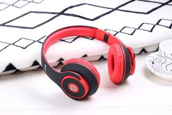 Auriculares Estéreo Multifunción Bluetooth Música Innovadora Cabeza Montada Bluetooth Auriculares Manos Libres Juego Micrófono Auriculares