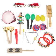 Instrumentos musicales de percusión, 18 Uds.
