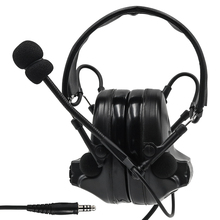 Tactical Headset Comtac II Active Noise Canceling Pickup earphone Airsoft Military Headset tactical shooting Earmuffs BK