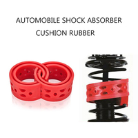 A/B/C/D/E/F Type 1 pair Car Shock Absorber Spring Bumper Power Auto Buffers Springs Bumpers Cushion Red Color