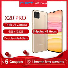 "Cubot X20 Pro 6GB+128GB AI Mode Triple Camera 6.3"" FHD+Waterdrop Screen Helio P60 Cellphone Android 9.0 Face ID Cellura 4000mAh"